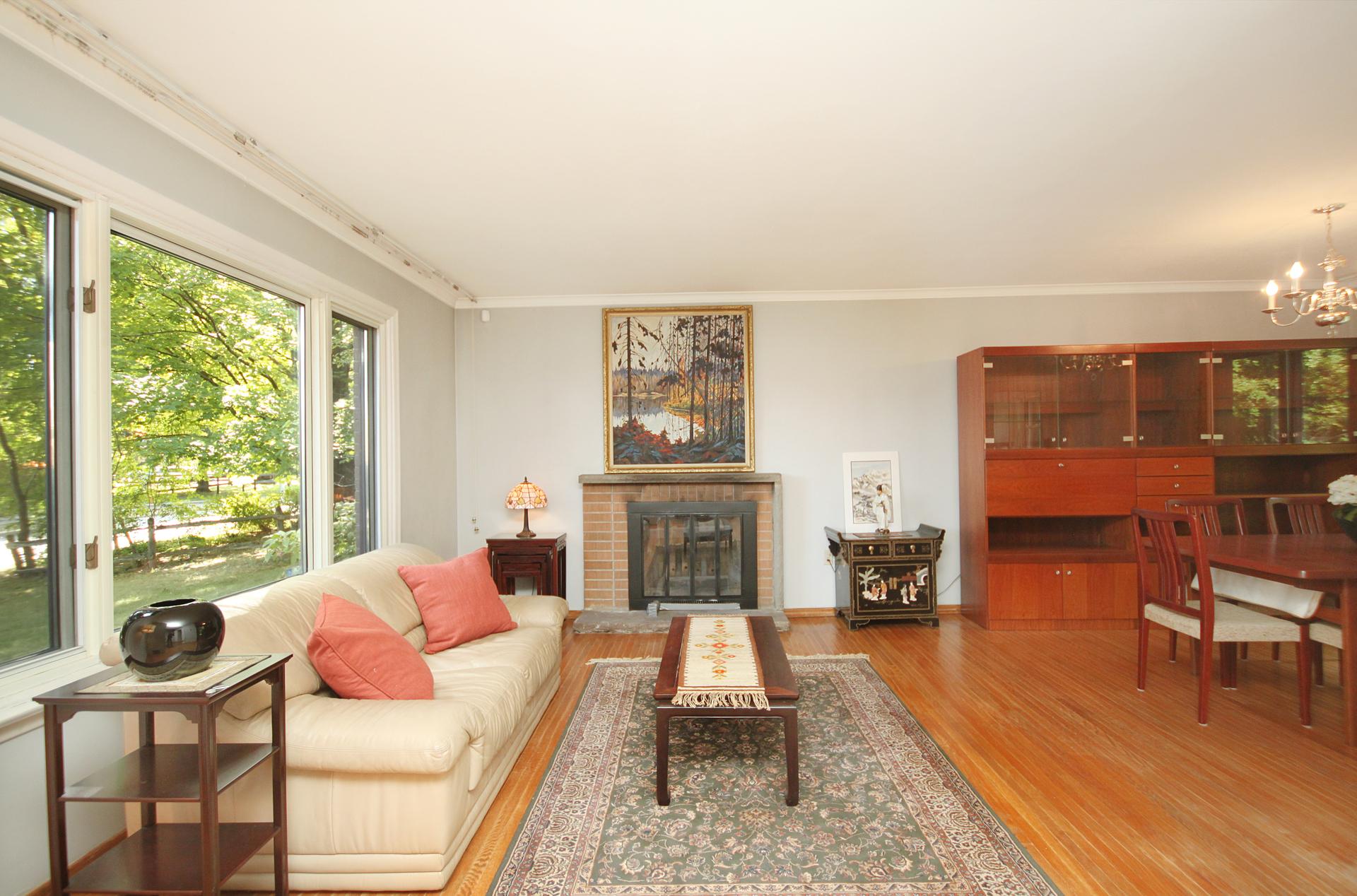 Living Room at 59 Overton Crescent, Banbury-Don Mills, Toronto