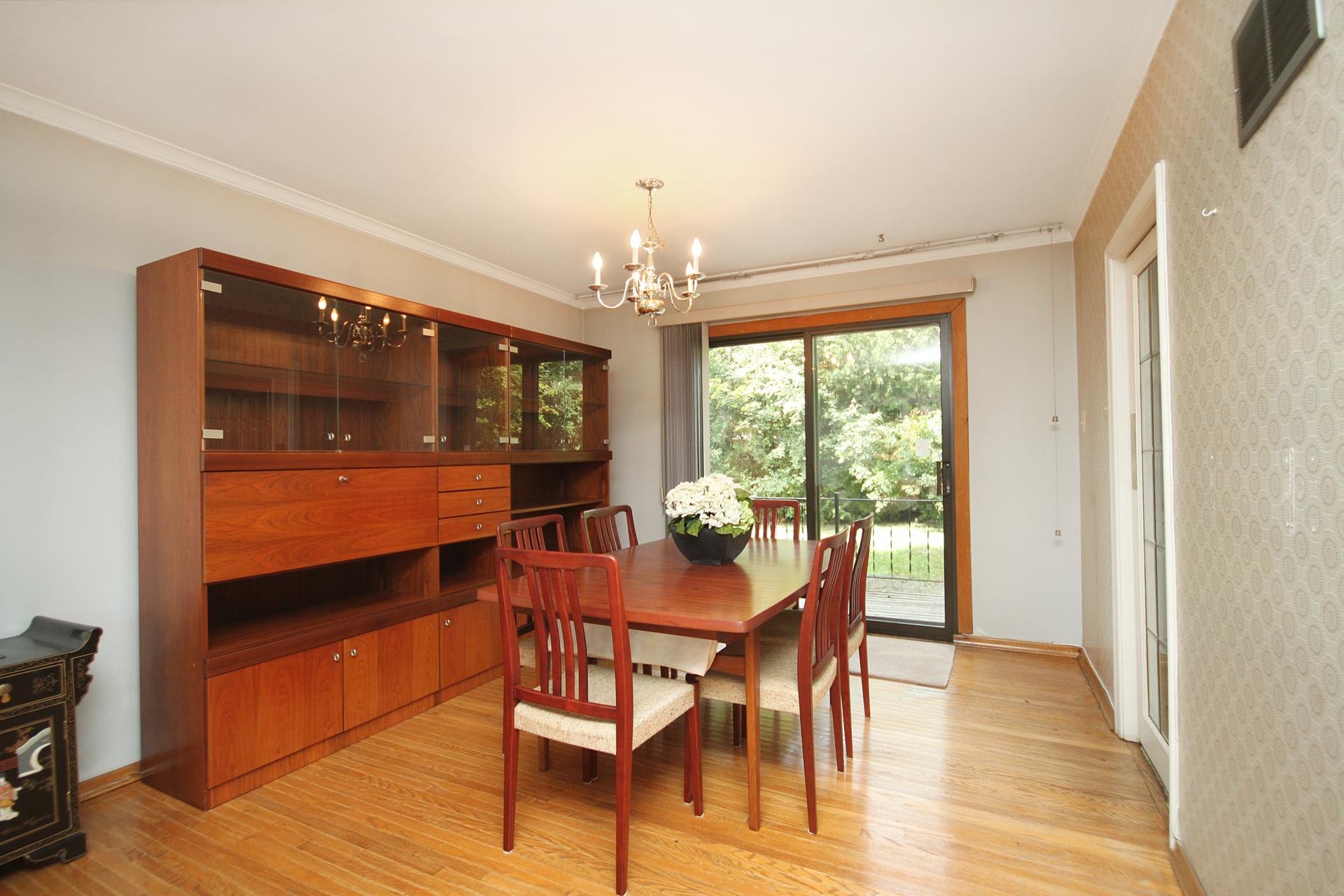 Dining Room at 59 Overton Crescent, Banbury-Don Mills, Toronto