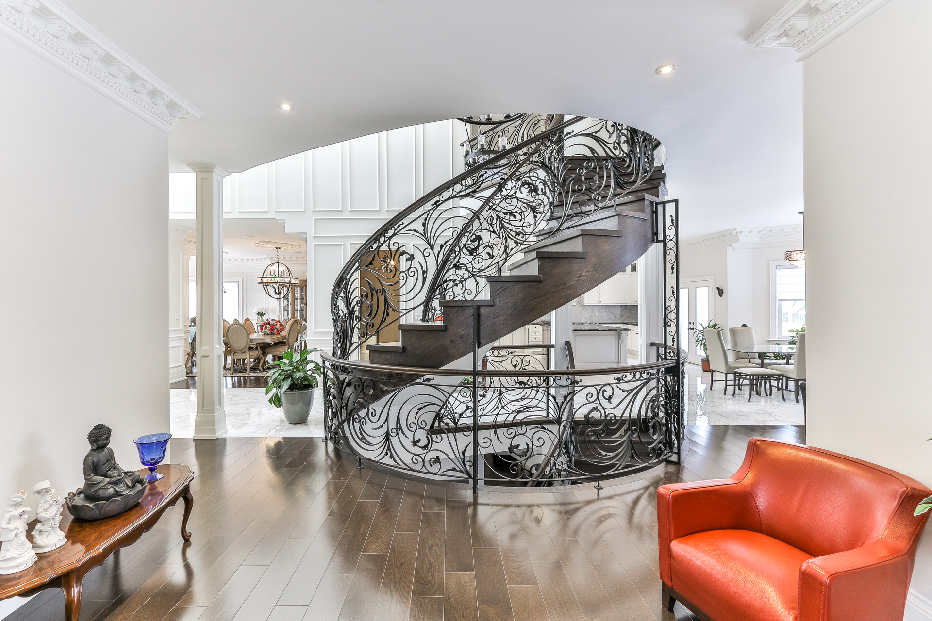 Staircase at 96 Northdale Road, St. Andrew-Windfields, Toronto