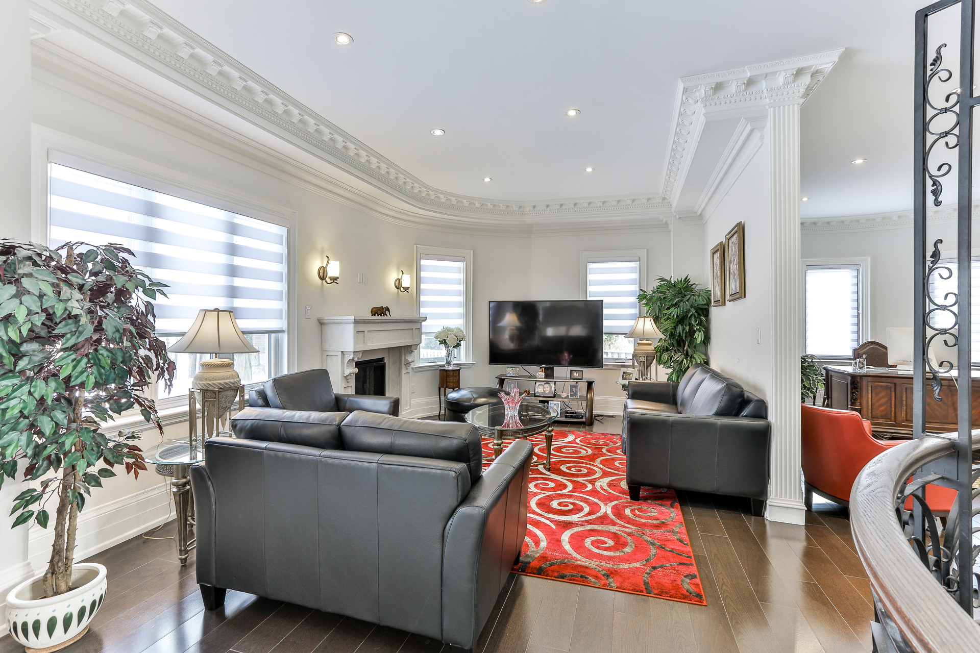 Family Room at 96 Northdale Road, St. Andrew-Windfields, Toronto