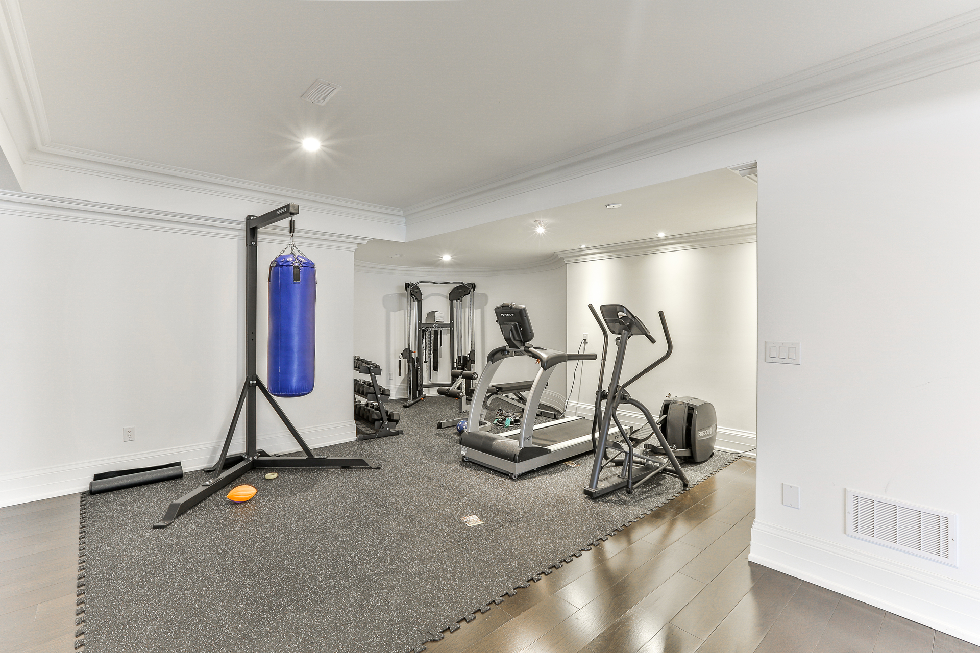 Exercise Room at 96 Northdale Road, St. Andrew-Windfields, Toronto
