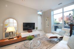 Living Room at 126 - 120 Dallimore Circle, Banbury-Don Mills, Toronto