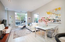 Living & Dining Room at 126 - 120 Dallimore Circle, Banbury-Don Mills, Toronto