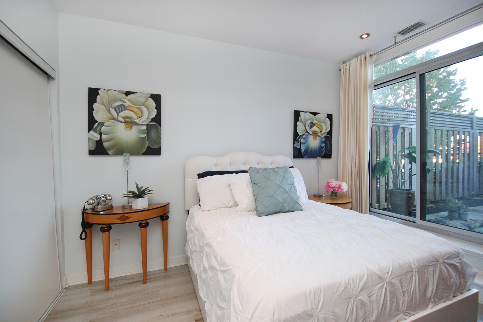 Primary Bedroom at 126 - 120 Dallimore Circle, Banbury-Don Mills, Toronto