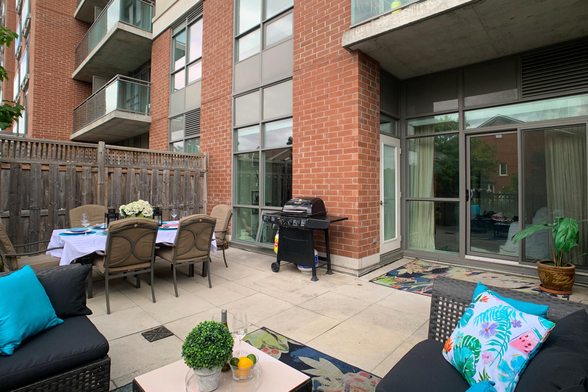 Terrace at 126 - 120 Dallimore Circle, Banbury-Don Mills, Toronto