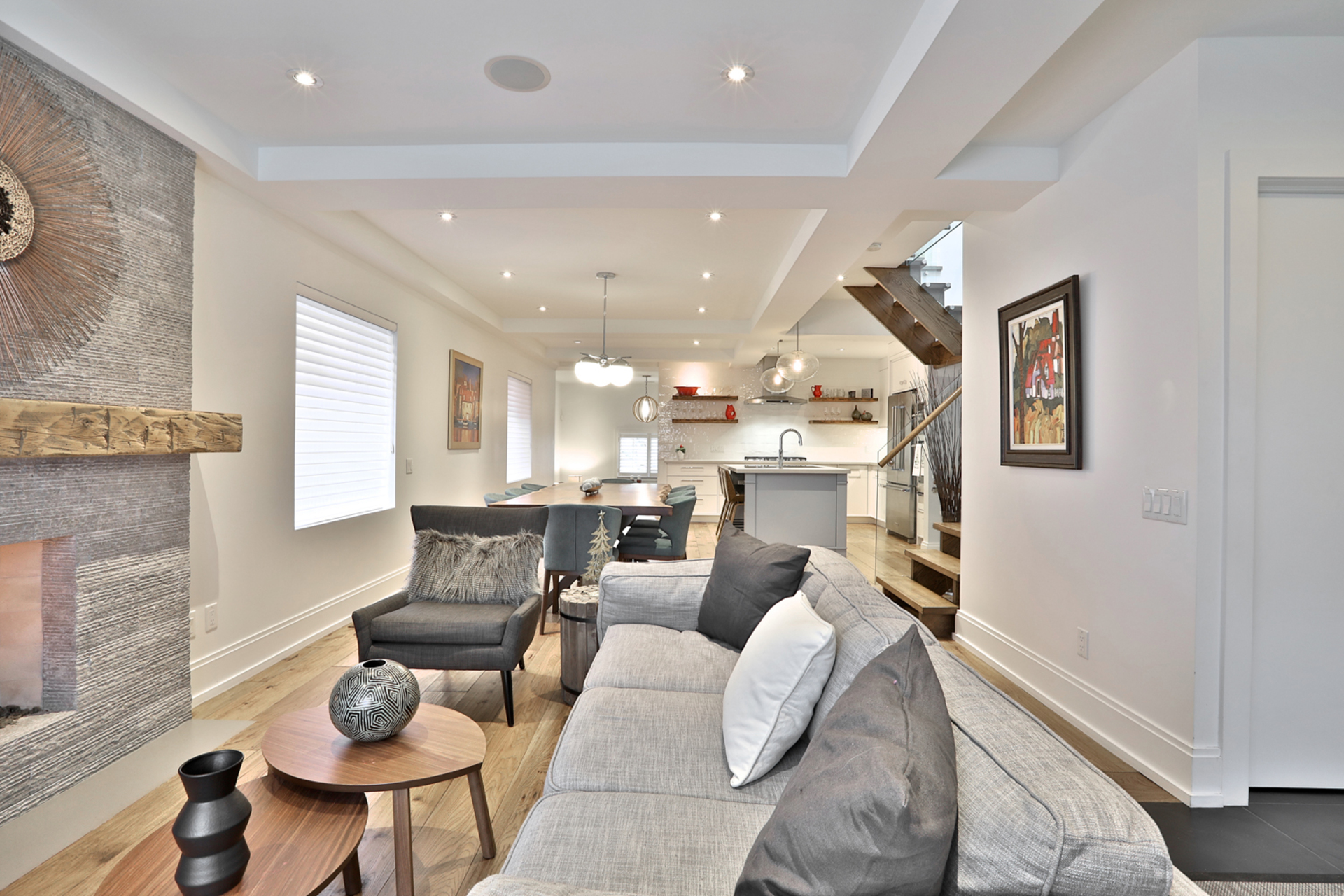 Living Room at 161 Banff Road, Bridle Path-Sunnybrook-York Mills, Toronto