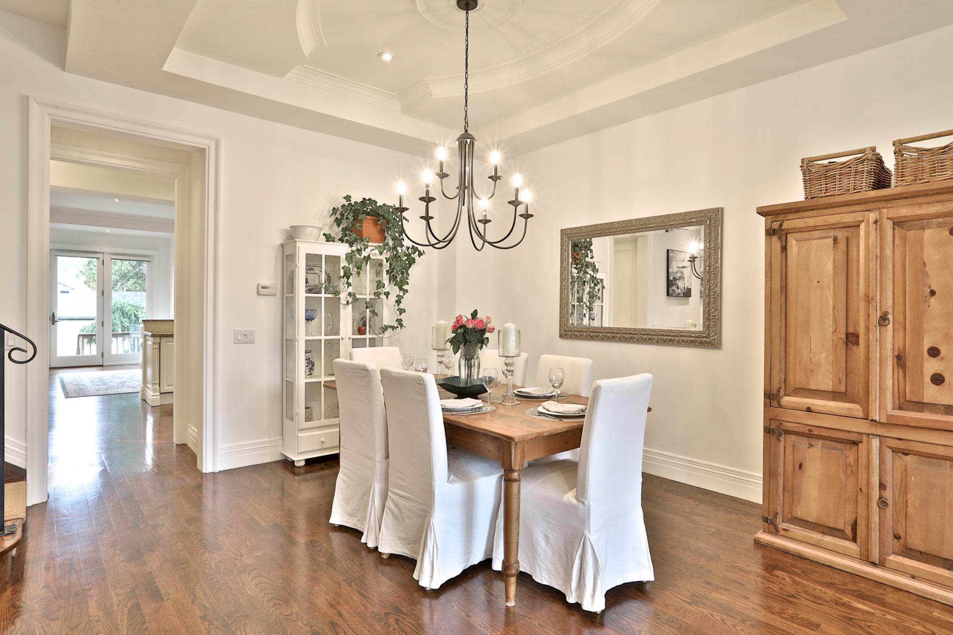 Dining Room at 75 Jedburgh Road, Lawrence Park North, Toronto