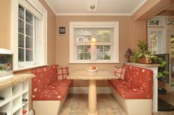 Breakfast Room at 348 Glen Manor Drive, The Beaches, Toronto