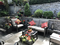 Backyard at 348 Glen Manor Drive, The Beaches, Toronto