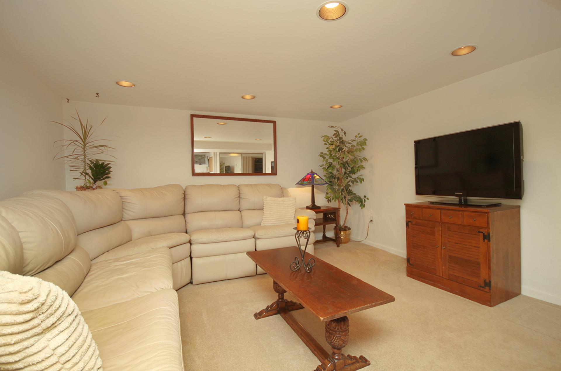 Recreation Room at 348 Glen Manor Drive, The Beaches, Toronto