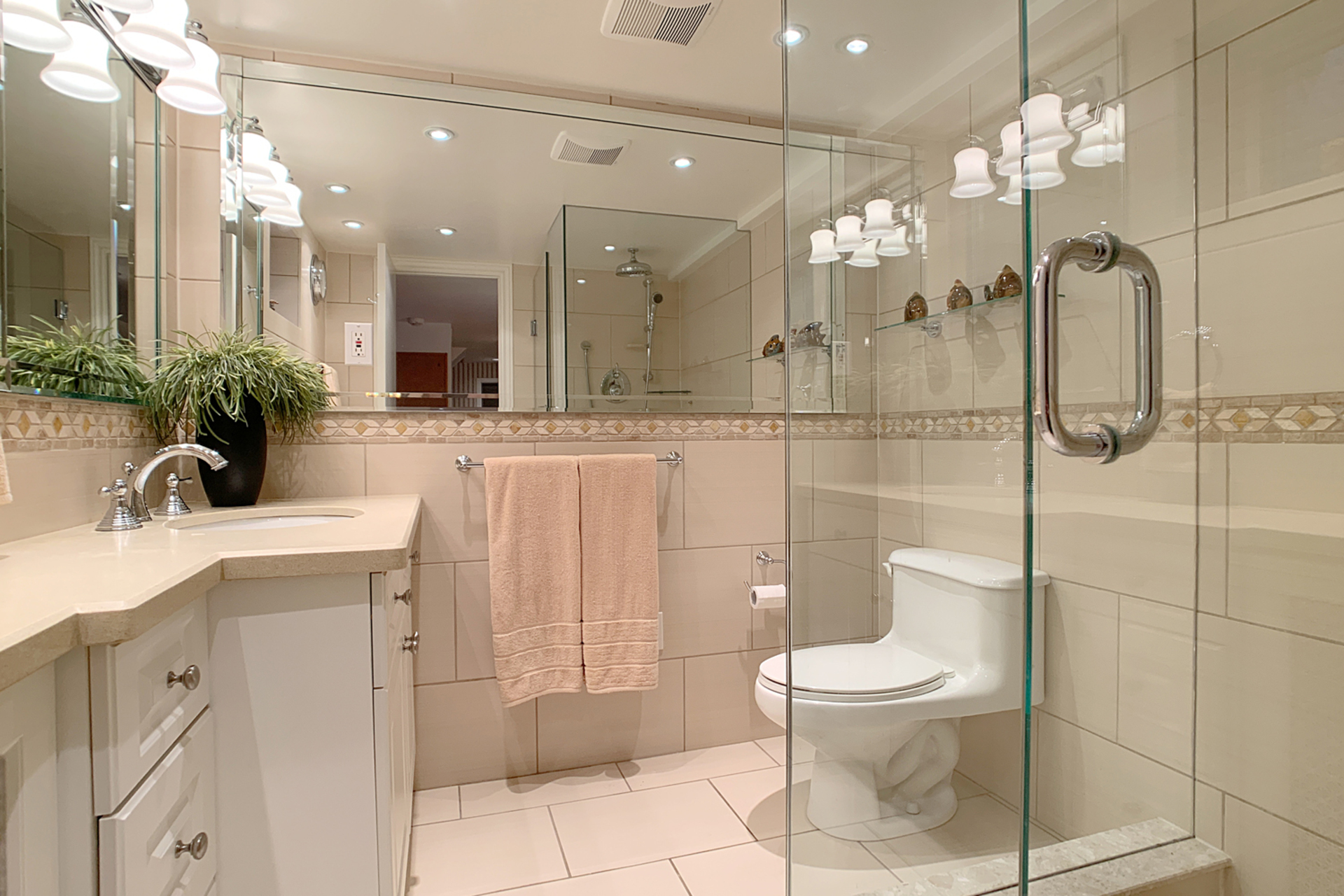 3 Piece Bathroom at 348 Glen Manor Drive, The Beaches, Toronto
