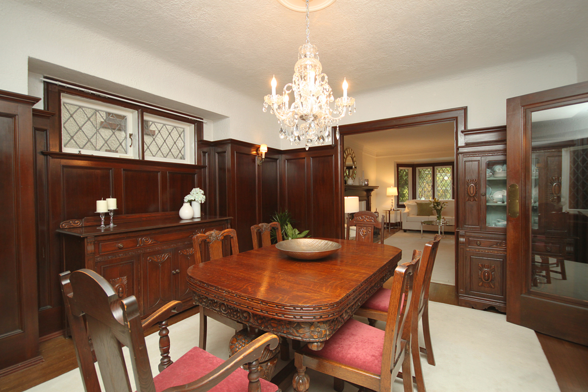 Dining Room at 348 Glen Manor Drive, The Beaches, Toronto