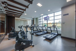Exercise Room at 122 - 35 Brian Peck Crescent, Leaside, Toronto