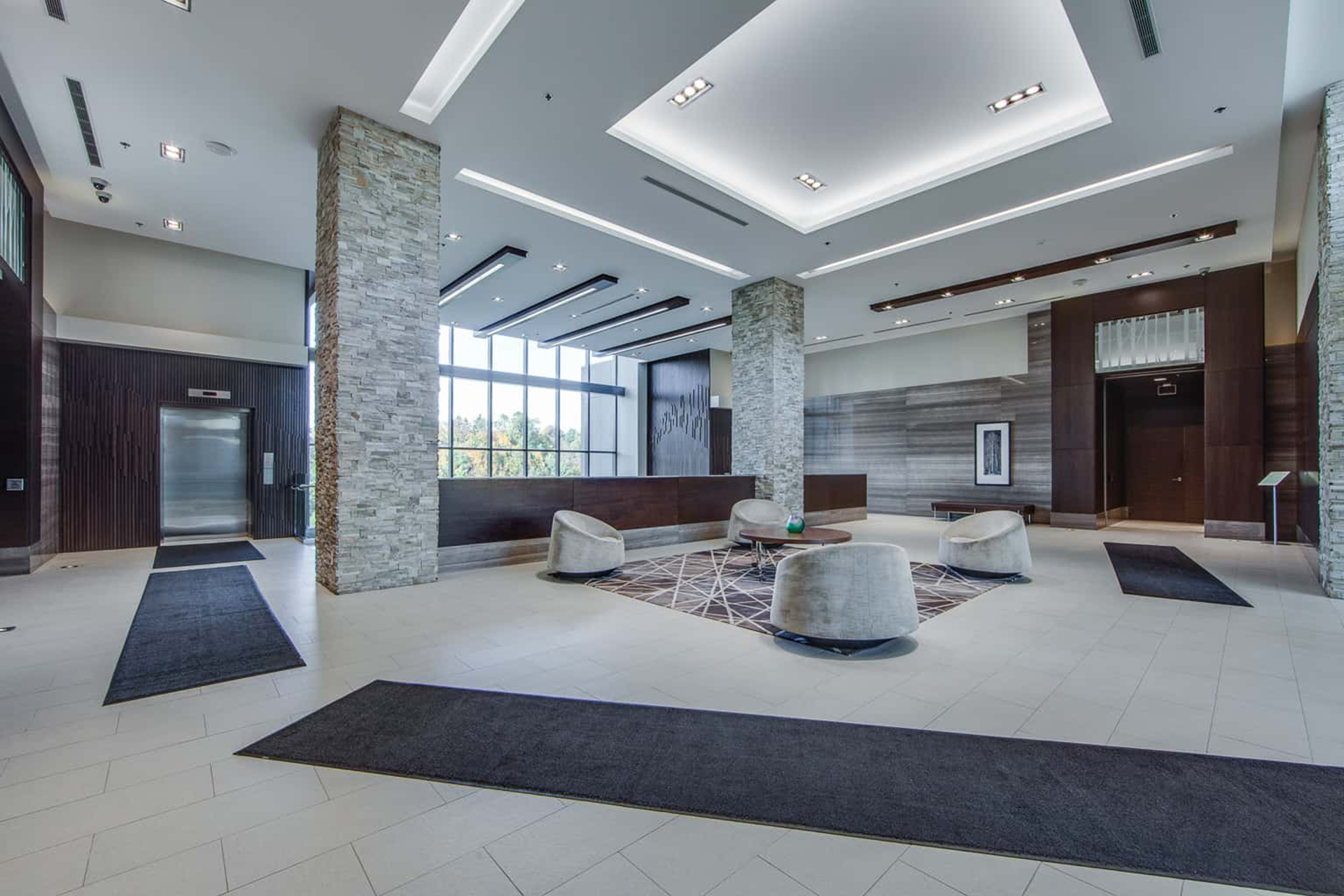 Lobby at 122 - 35 Brian Peck Crescent, Leaside, Toronto