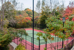 Tennis Court at 201 - 18 Concorde Place, Banbury-Don Mills, Toronto