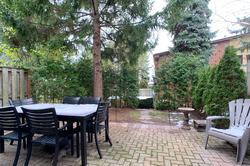 Backyard at 10 - 46 Three Valleys Drive, Parkwoods-Donalda, Toronto