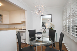 Dining Room at 10 - 46 Three Valleys Drive, Parkwoods-Donalda, Toronto