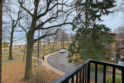View from Balcony at 6 - 7 Balsam Avenue, The Beaches, Toronto