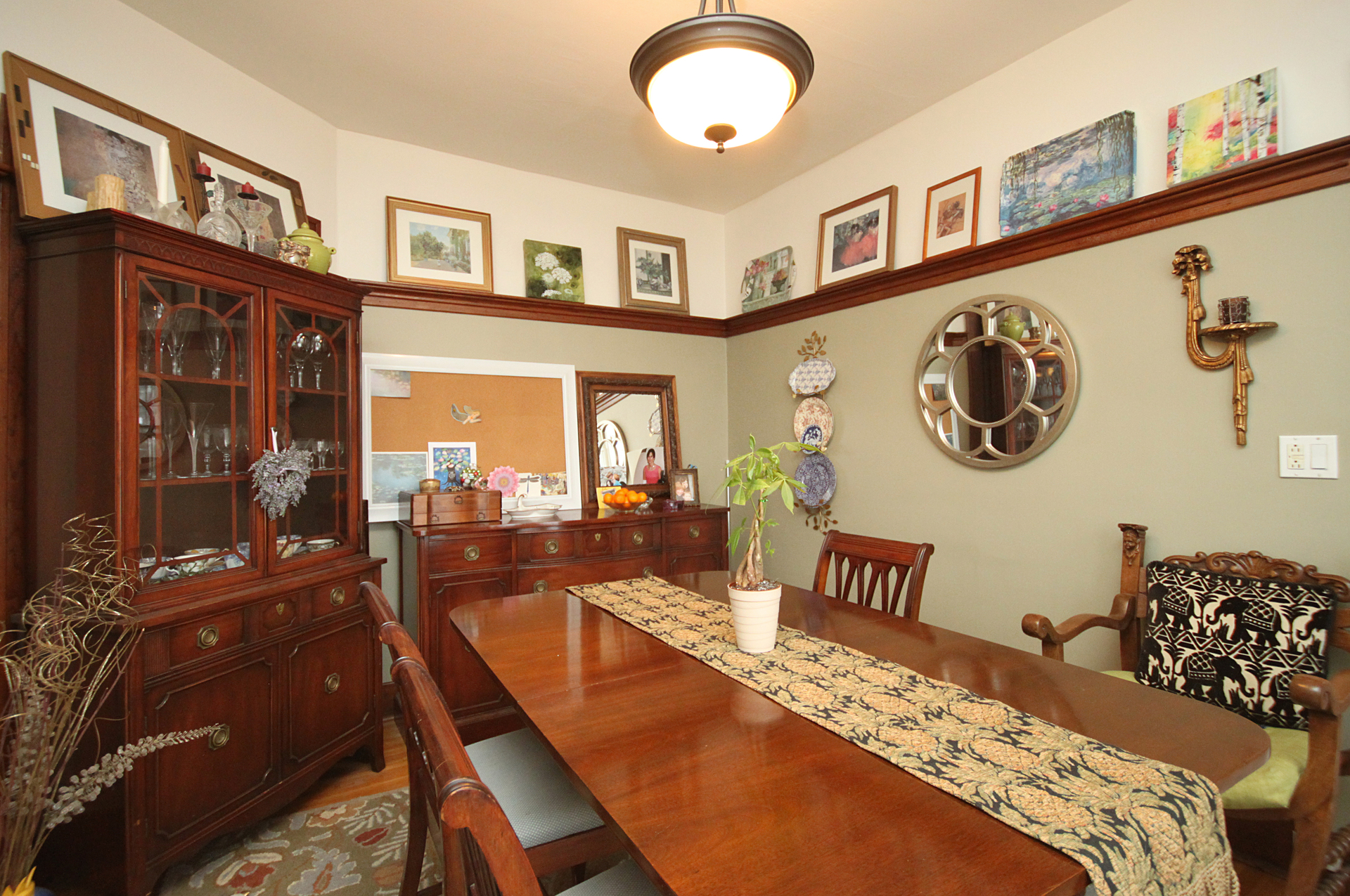 Dining Room at 6 - 7 Balsam Avenue, The Beaches, Toronto