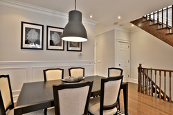 Dining Room at 54 Unsworth Avenue, Lawrence Park North, Toronto