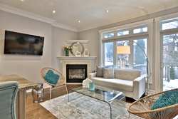 Family Room at 54 Unsworth Avenue, Lawrence Park North, Toronto