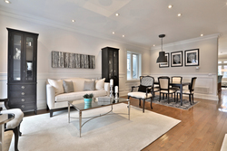 Living Room at 54 Unsworth Avenue, Lawrence Park North, Toronto