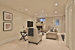 Recreation Room at 54 Unsworth Avenue, Lawrence Park North, Toronto