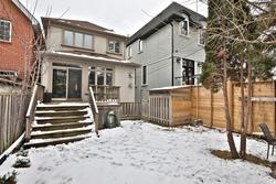 Backyard at 54 Unsworth Avenue, Lawrence Park North, Toronto