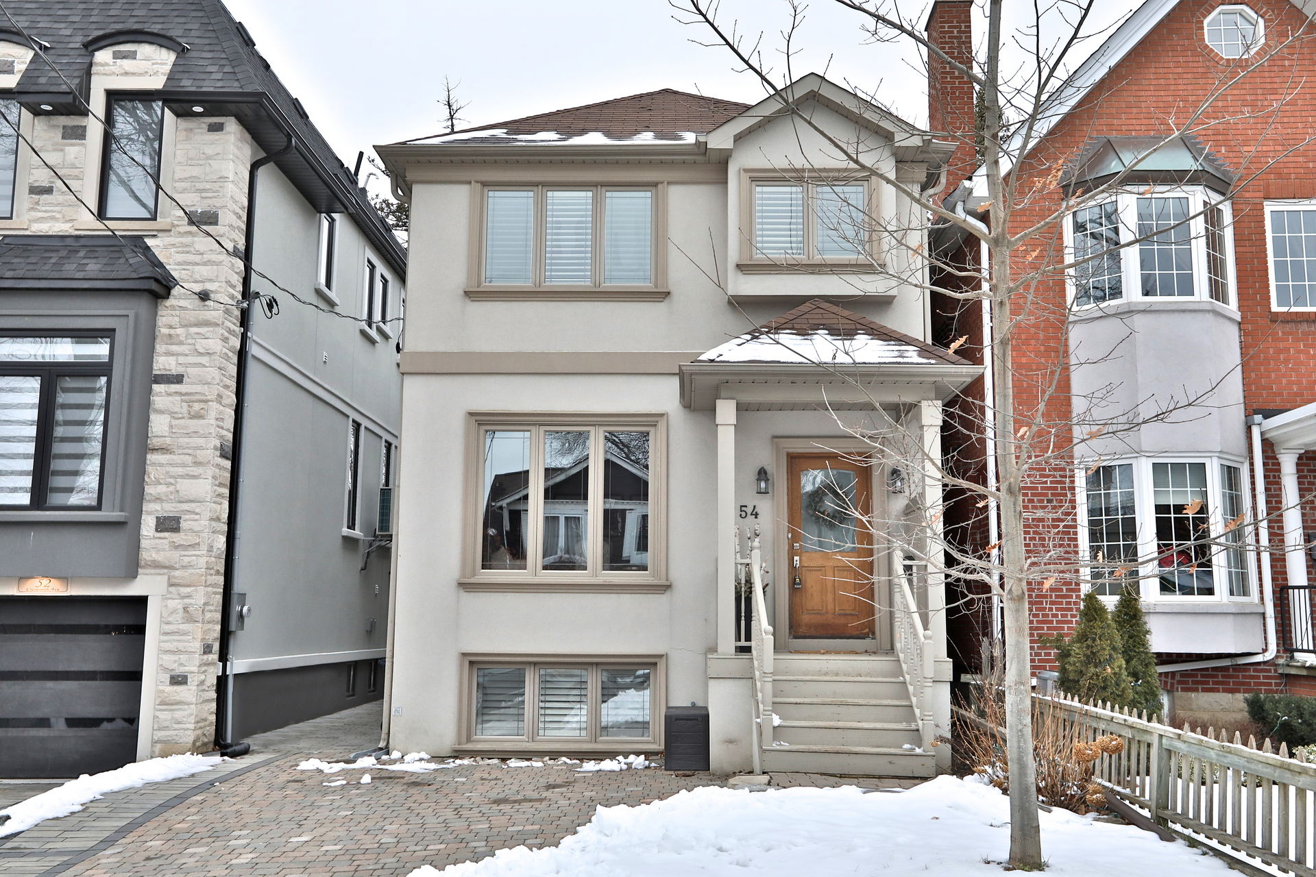 Front at 54 Unsworth Avenue, Lawrence Park North, Toronto