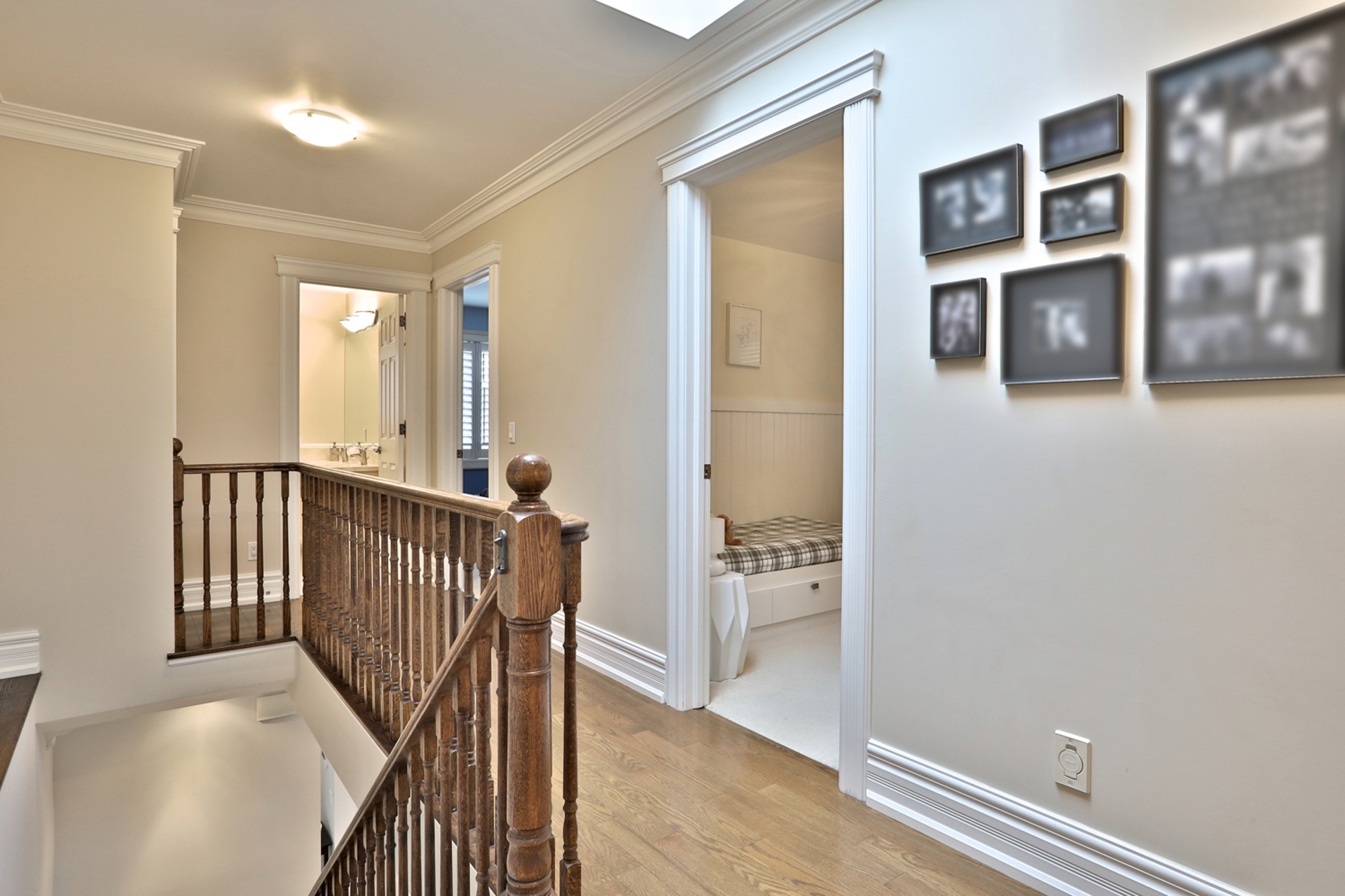 Upper Level at 54 Unsworth Avenue, Lawrence Park North, Toronto