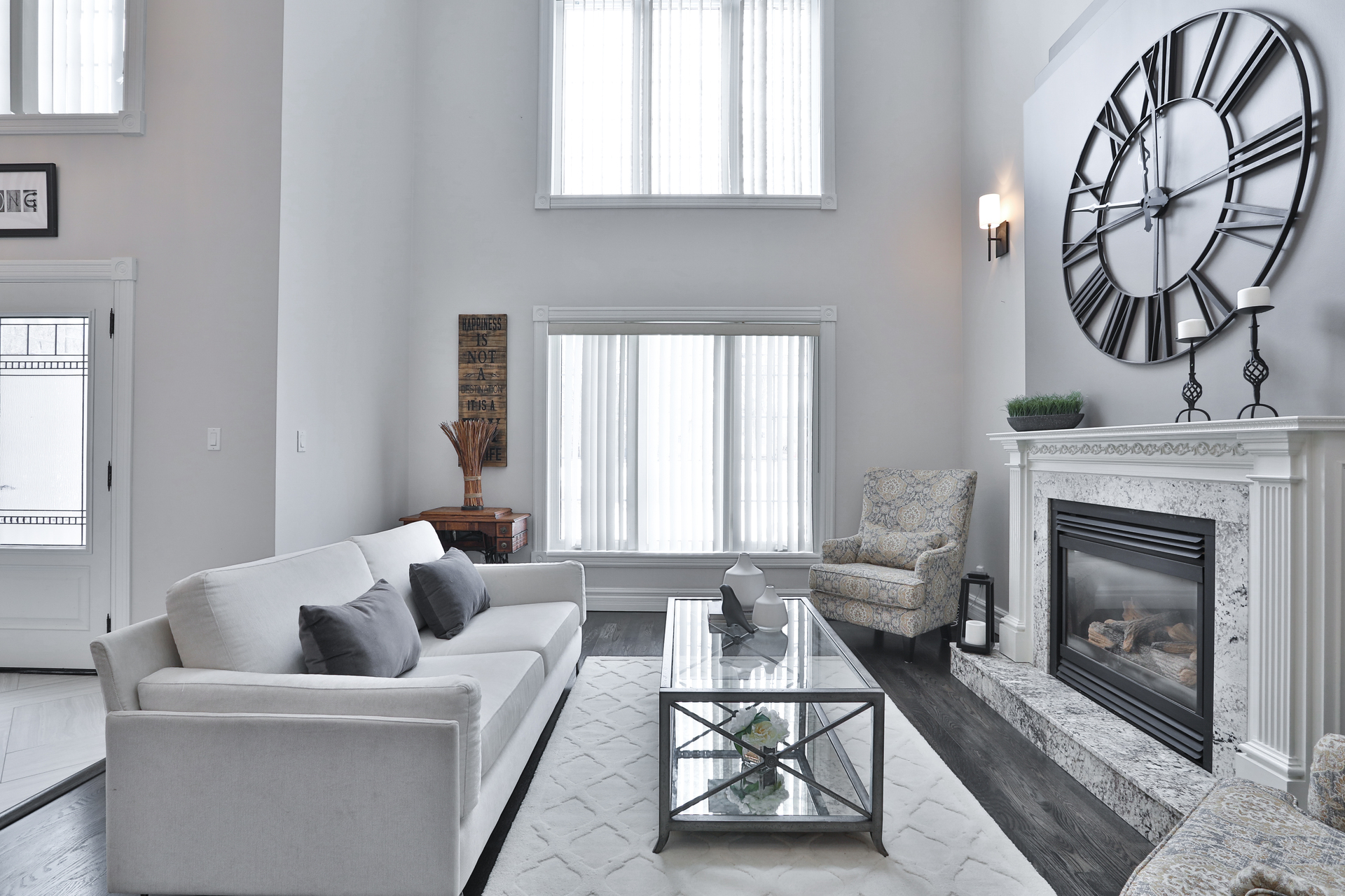 Living Room at 147 Manse Road, West Hill, Toronto