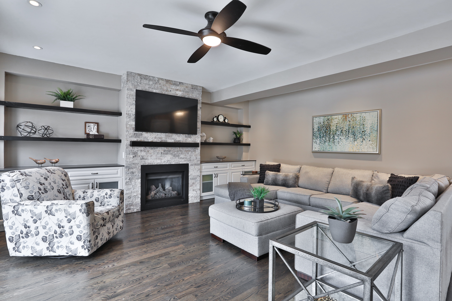 Family Room at 147 Manse Road, West Hill, Toronto