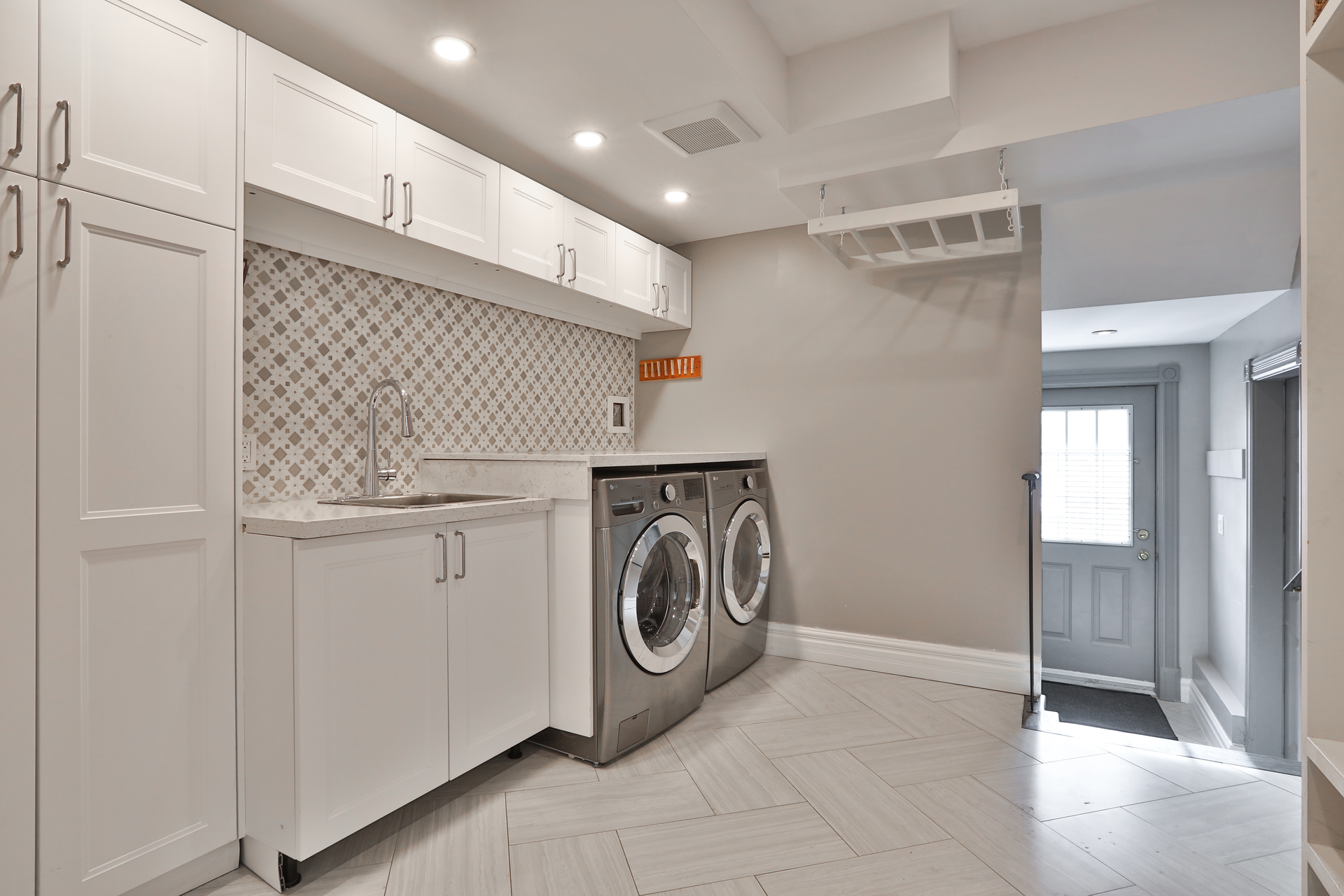 Laundry Room at 147 Manse Road, West Hill, Toronto