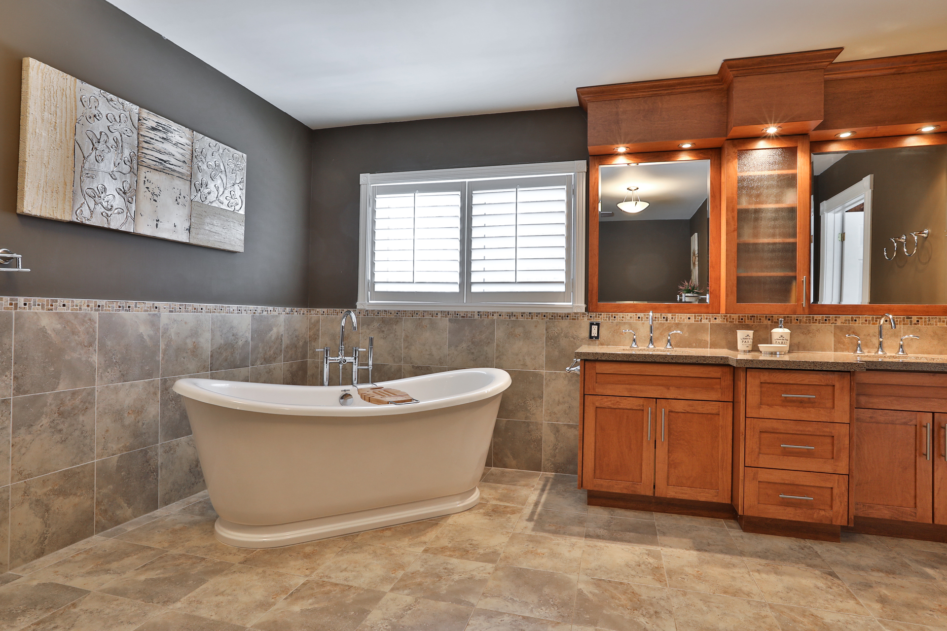 5 Piece Ensuite Bathroom at 147 Manse Road, West Hill, Toronto