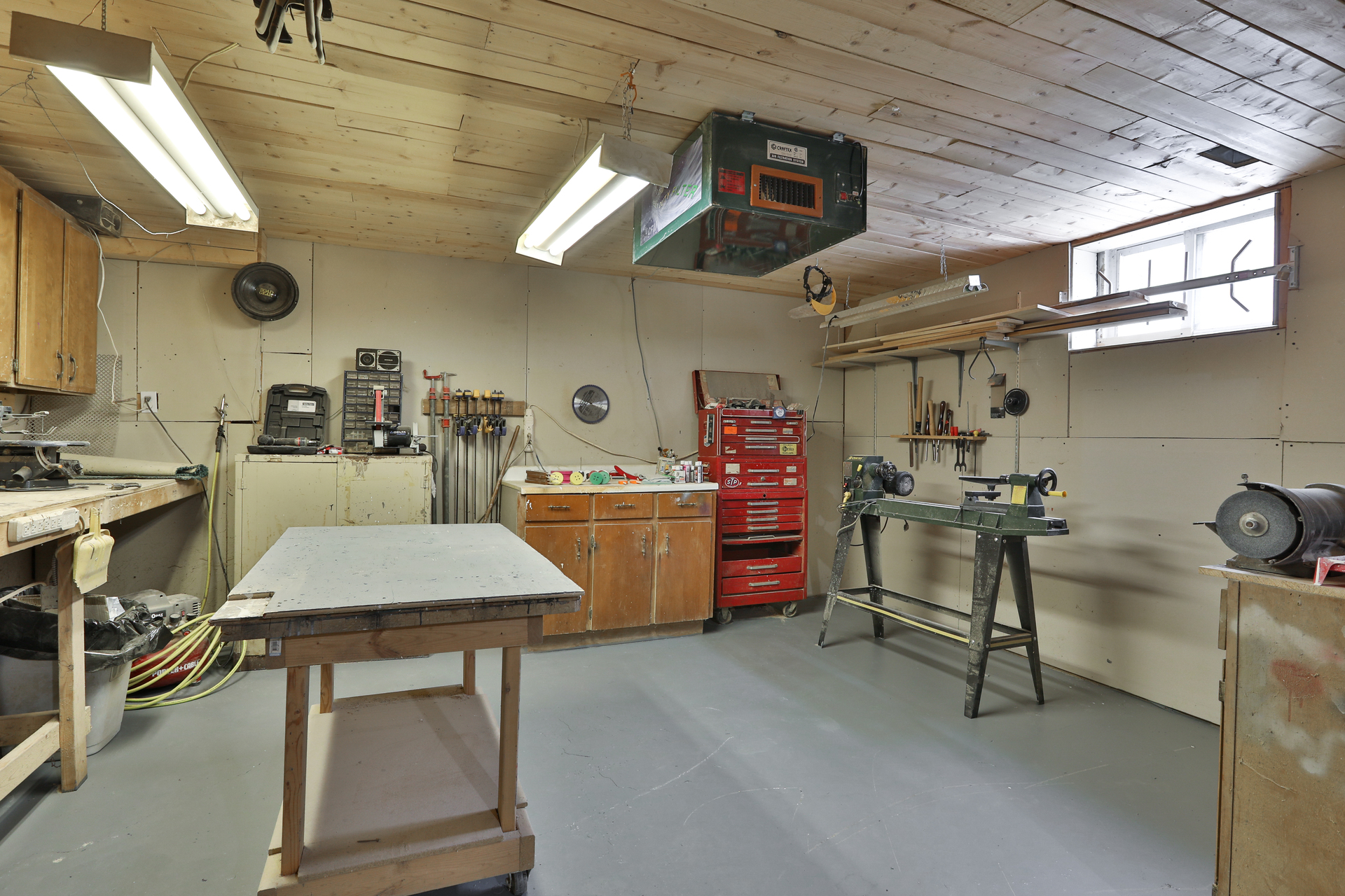 Workshop at 147 Manse Road, West Hill, Toronto
