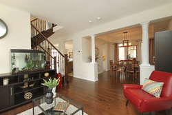 Living & Dining Room at 119 Roy Nichols Drive, Courtice, Clarington