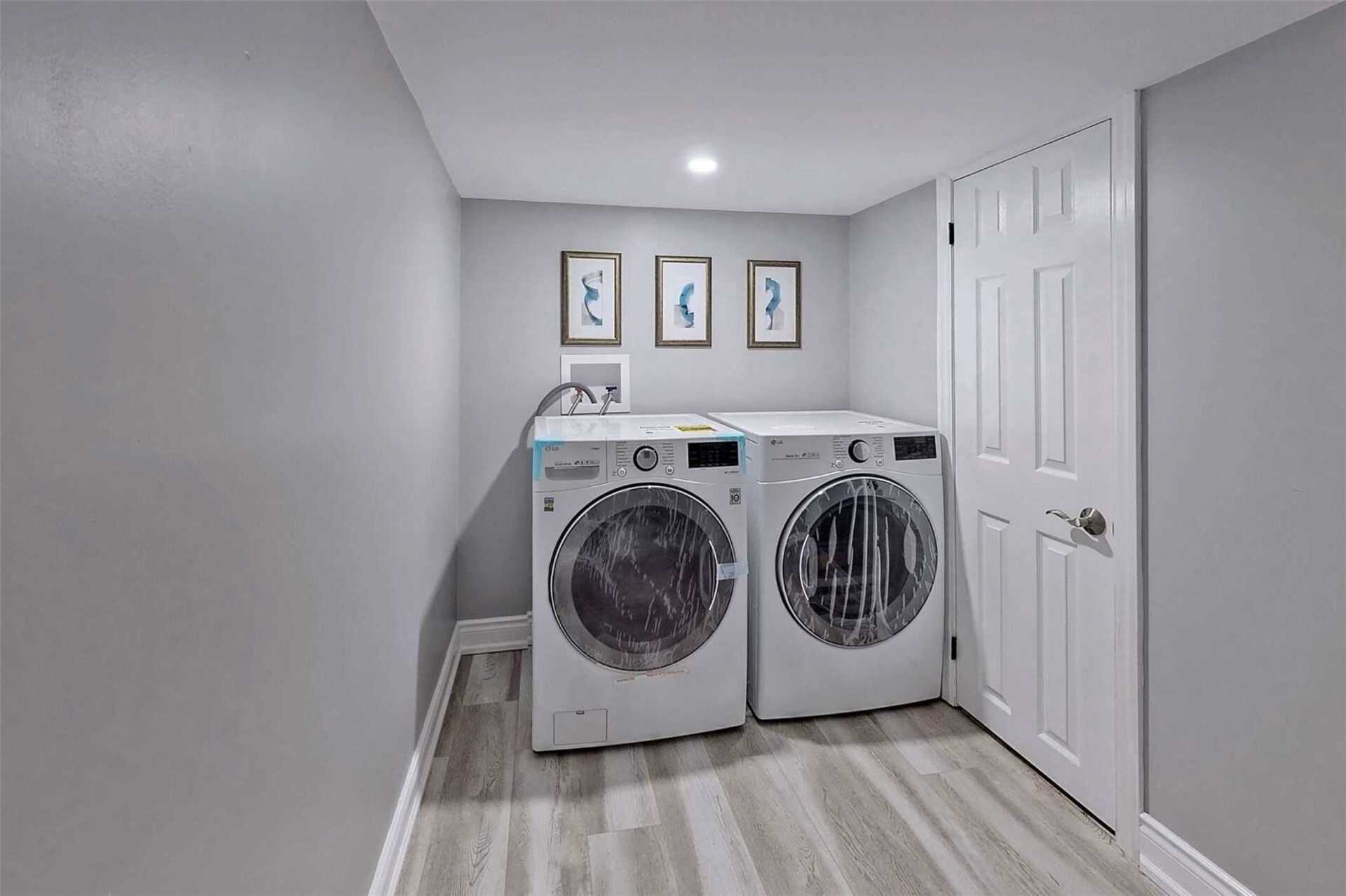 Shared Laundry Room at Bachelor - 6 Bonacres Avenue, Centennial Scarborough, Toronto