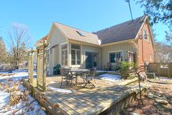 Backyard at 38 Addison Crescent, Banbury-Don Mills, Toronto