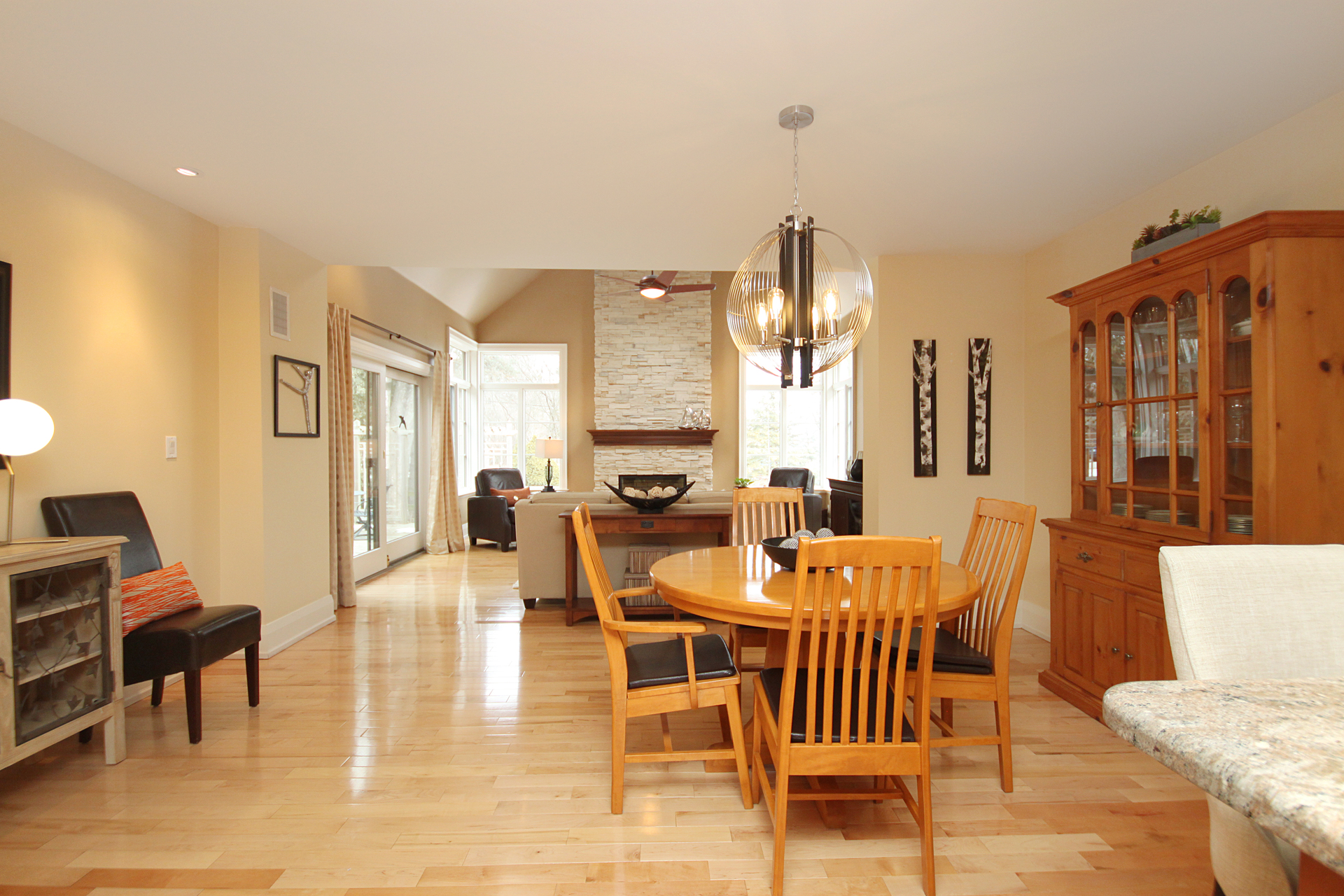 Dining Room at 38 Addison Crescent, Banbury-Don Mills, Toronto