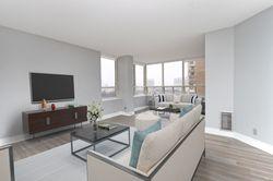 Living Room at 1002 - 205 Wynford Drive, Banbury-Don Mills, Toronto