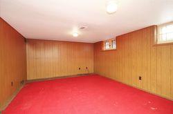 Recreation Room at 69 Vanderhoof Avenue, Leaside, Toronto