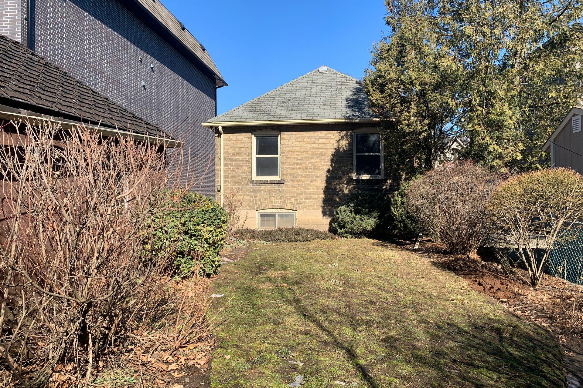 Backyard at 69 Vanderhoof Avenue, Leaside, Toronto
