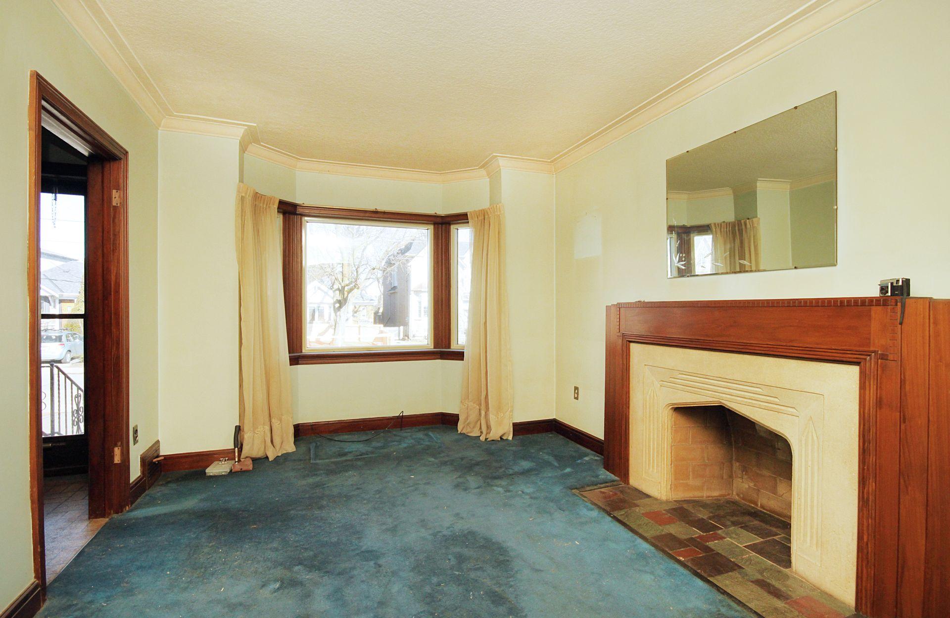 Living Room at 69 Vanderhoof Avenue, Leaside, Toronto