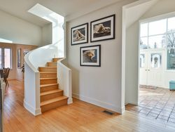 Staircase to Second Level at 8 Swiftdale Place, Parkwoods-Donalda, Toronto