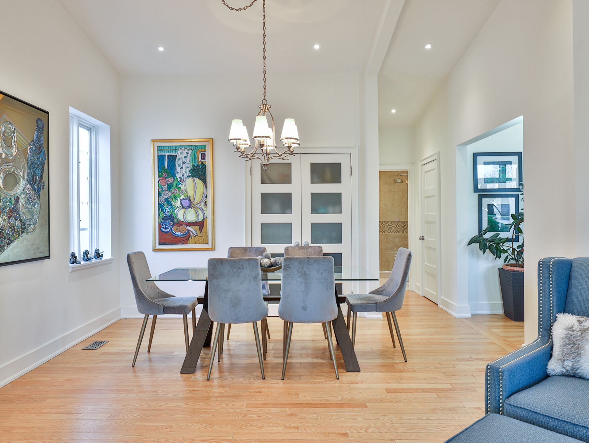 Dining Room at 8 Swiftdale Place, Parkwoods-Donalda, Toronto
