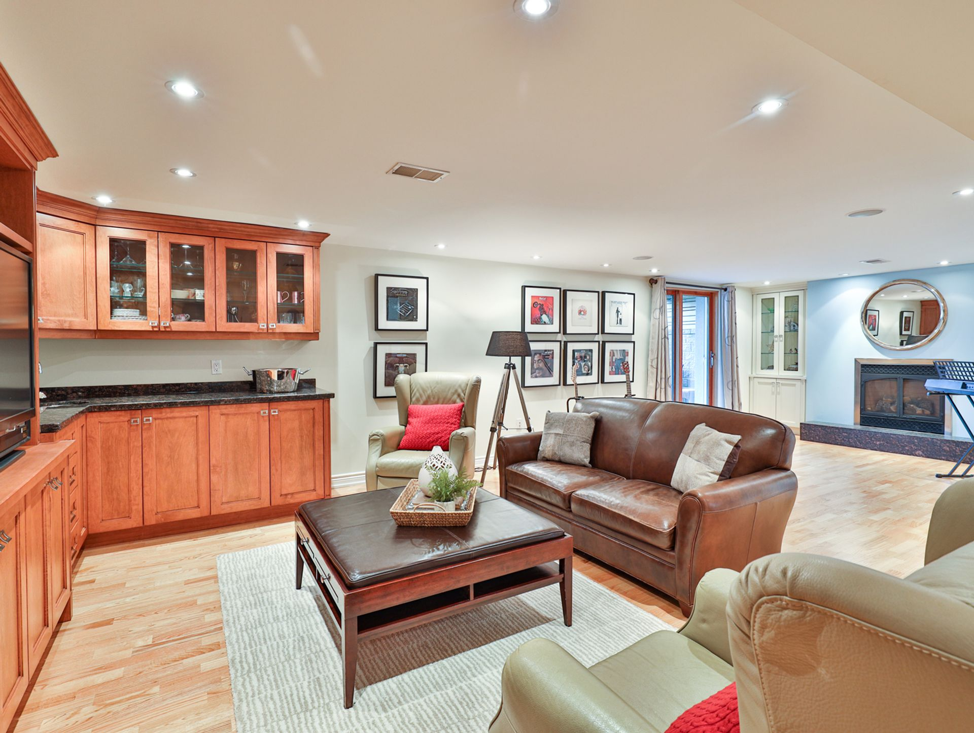 Recreation Room at 8 Swiftdale Place, Parkwoods-Donalda, Toronto