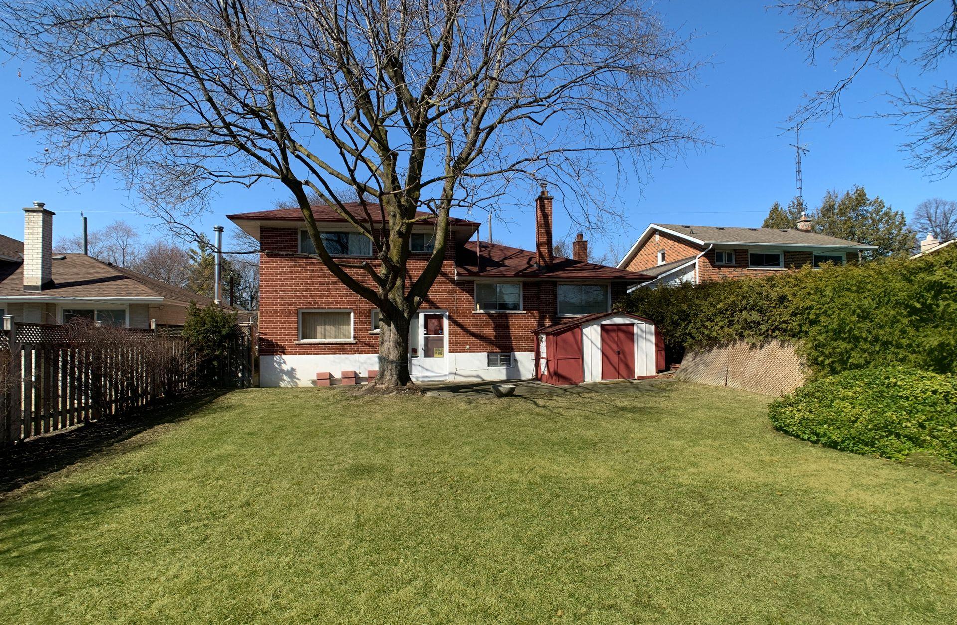Backyard at 55 Roanoke Road, Parkwoods-Donalda, Toronto