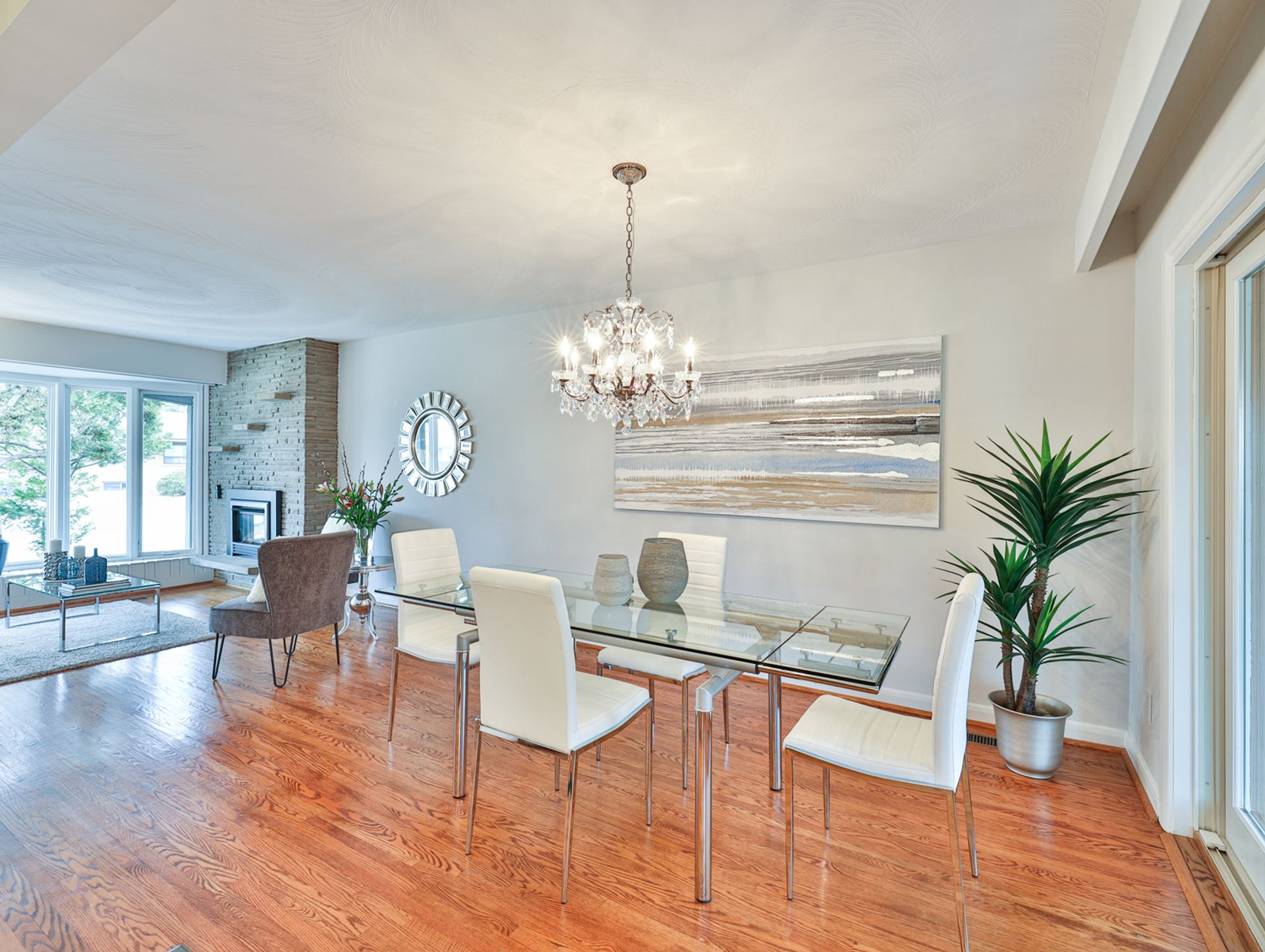 Dining Room at 62 Overbank Crescent, Parkwoods-Donalda, Toronto