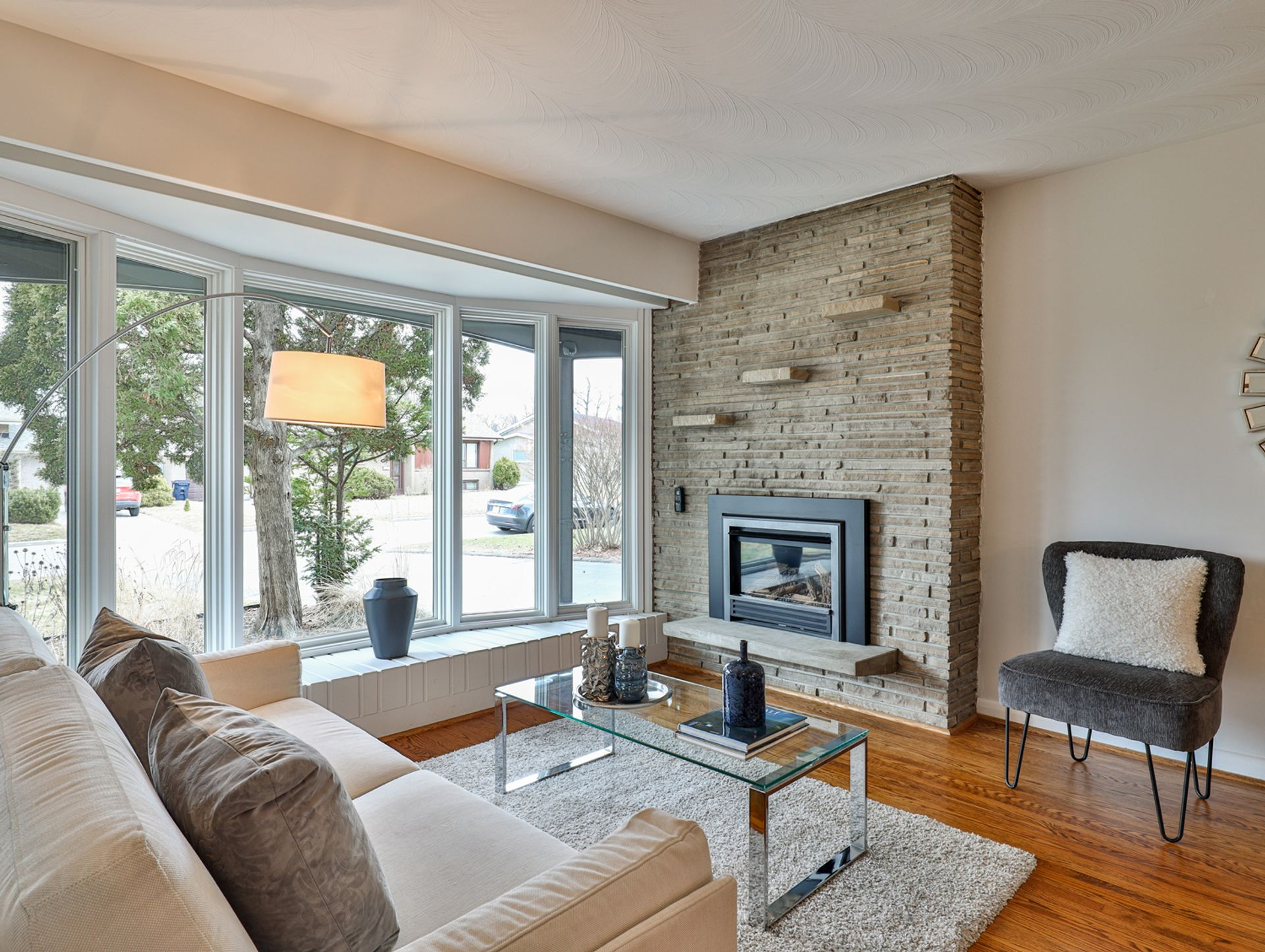 Living Room at 62 Overbank Crescent, Parkwoods-Donalda, Toronto