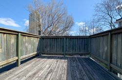 Deck at 21 West Avenue, South Riverdale, Toronto